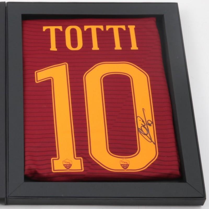 Special Edition Francesco Totti Box - Signed Shirt