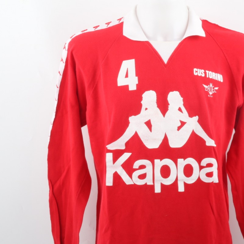 Kappa Cus Torino Shirt, Signed by Piero Rebaudengo
