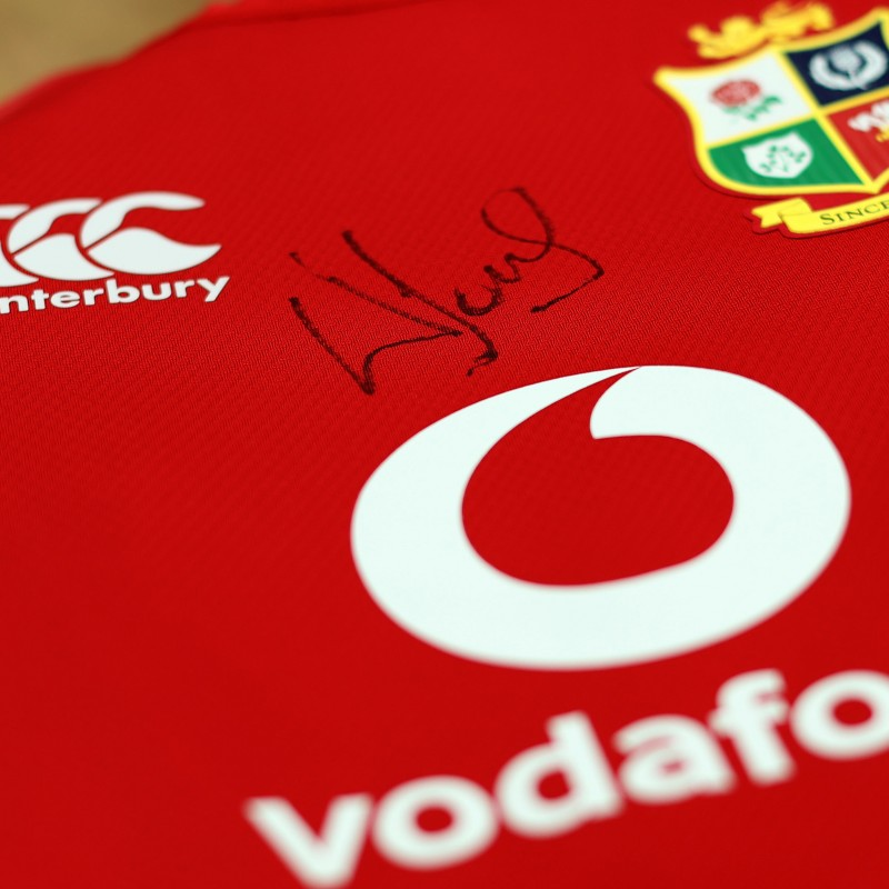 Lions 2021 Test Shirt - Worn and Signed by Wyn Jones