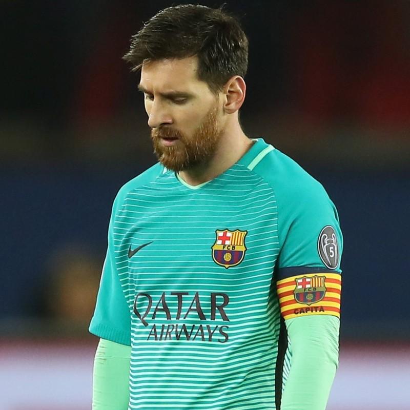 Messi's Match-Issue/Worn Shirt, CL 2016/17
