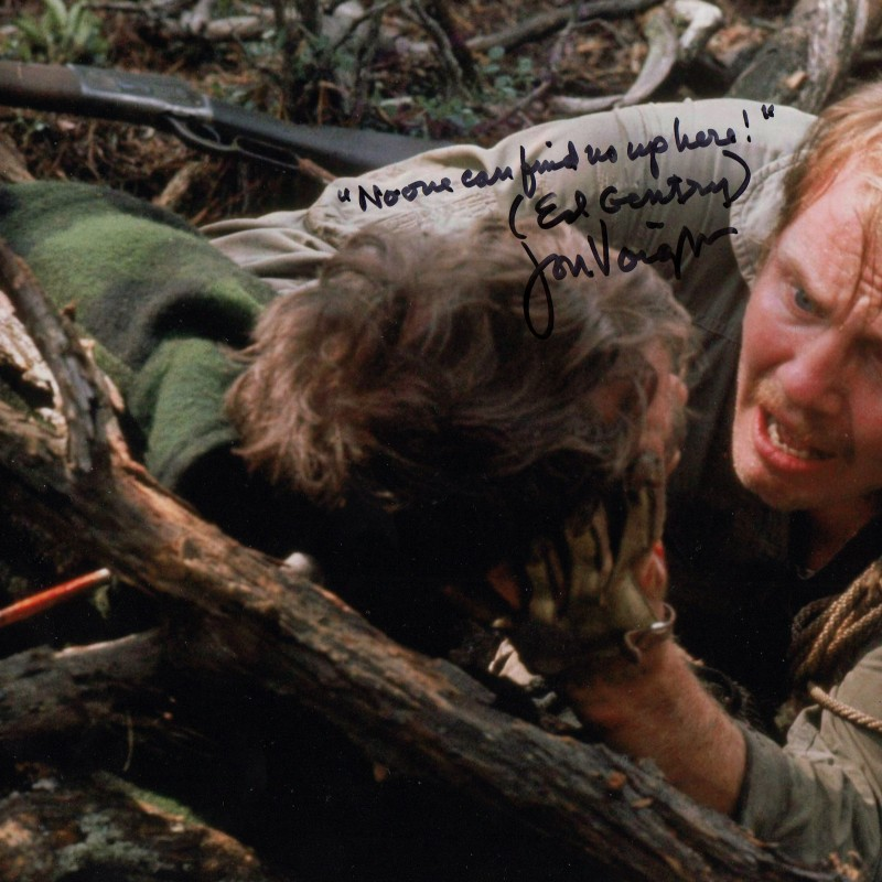 Oscar Jon Voight signed picture