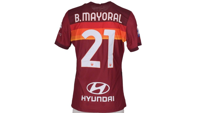 Mayoral's Match-Issued Shirt, Roma-Torino - WFP Special