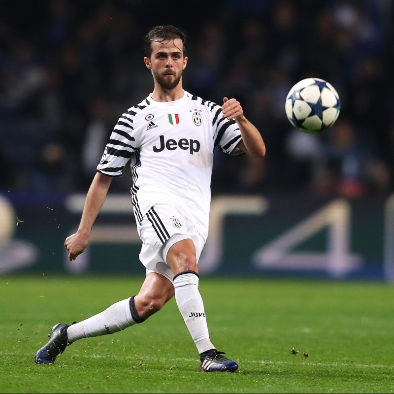 Pjanic's Juventus Shirt, Issued/Worn CL 2016/17