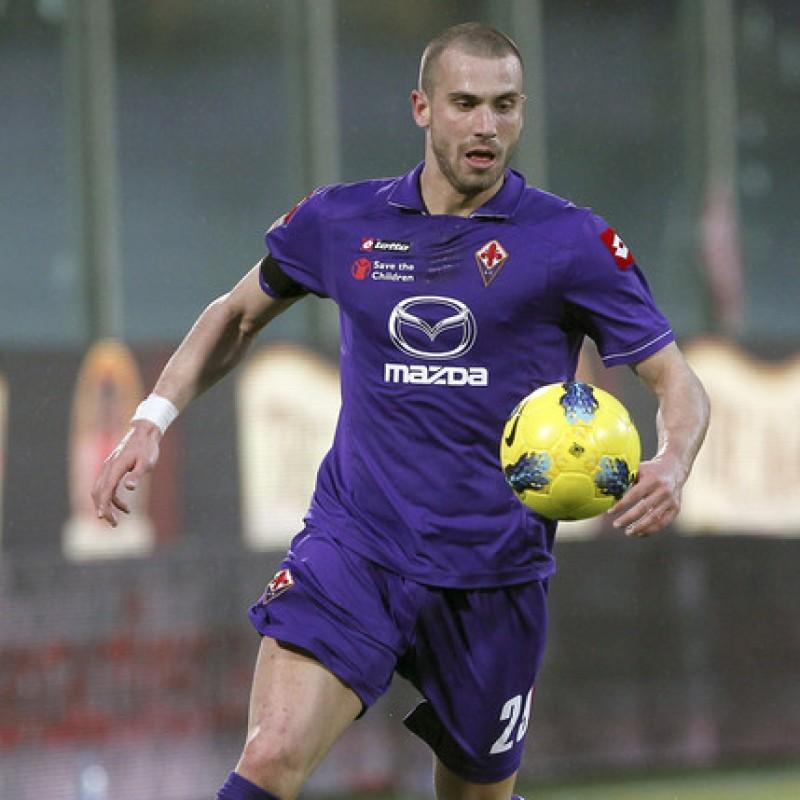 De Silvestri's Fiorentina Match Shorts, 2011/12