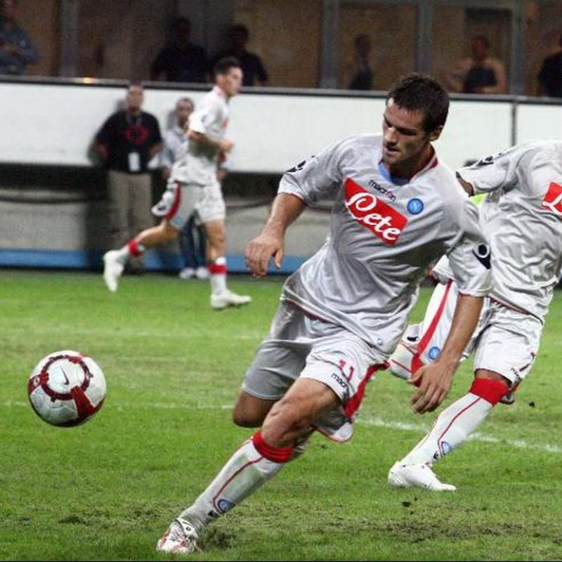 Maggio's Napoli Worn and Signed Shirt, 2009/10