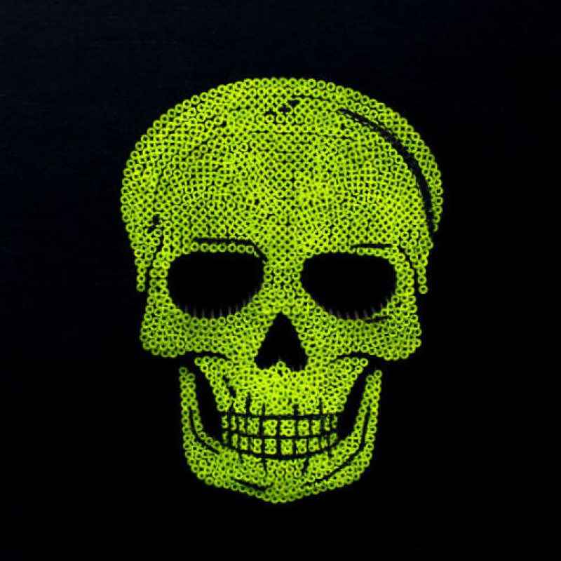 """Skull Yellow Fluo"" by Alessandro Padovan"