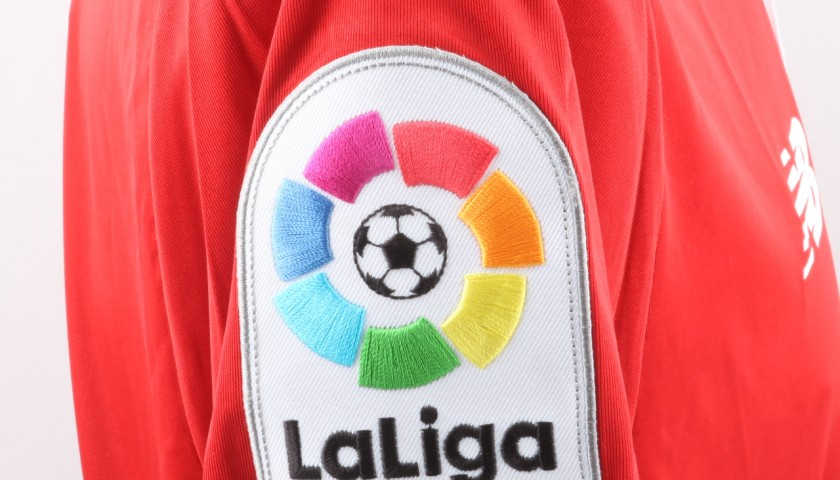 Jovetic Sevilla Match Worn Shirt, Liga 2016/17 - Signed