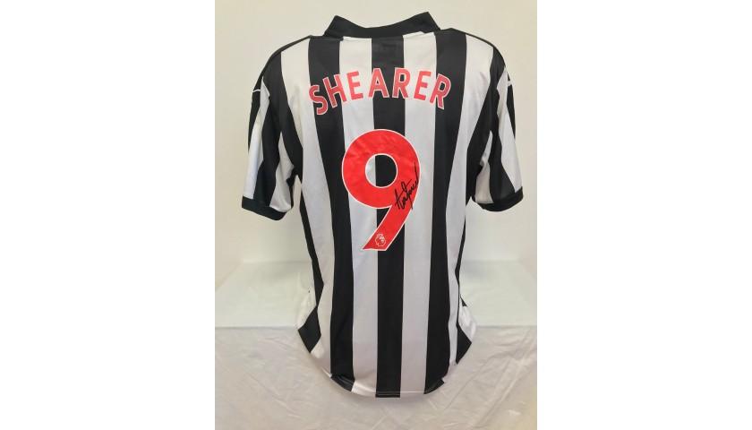 Shearer's Official Newcastle Signed Shirt, 2017/18