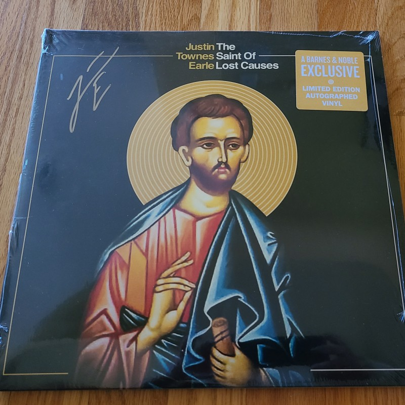 Justin Townes Earle Signed Album