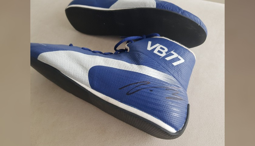 Valtteri Bottas' Worn and Signed Puma Boots