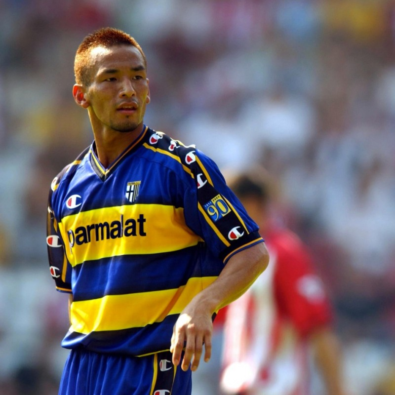 Nakata's Parma Match Shirt, 2003/04