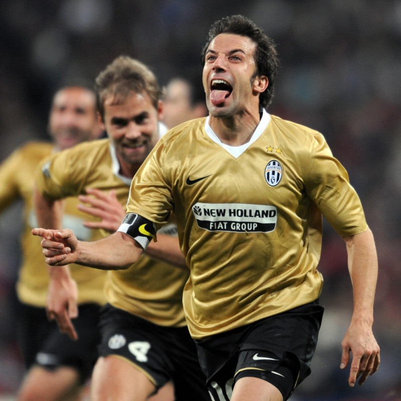 Del Piero's Juventus Match-Issue/Worn Shirt, 2008/09