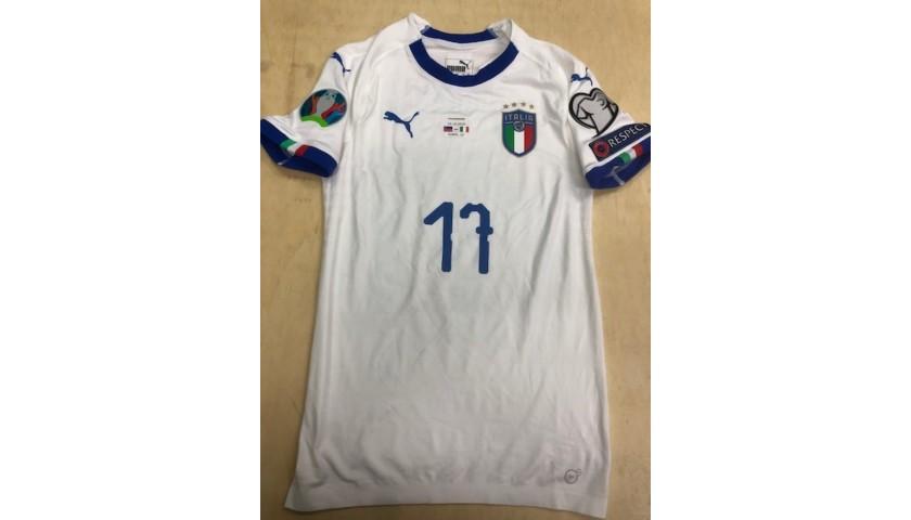 Immobile's Match Shirt, Liechtenstein-Italy 2019