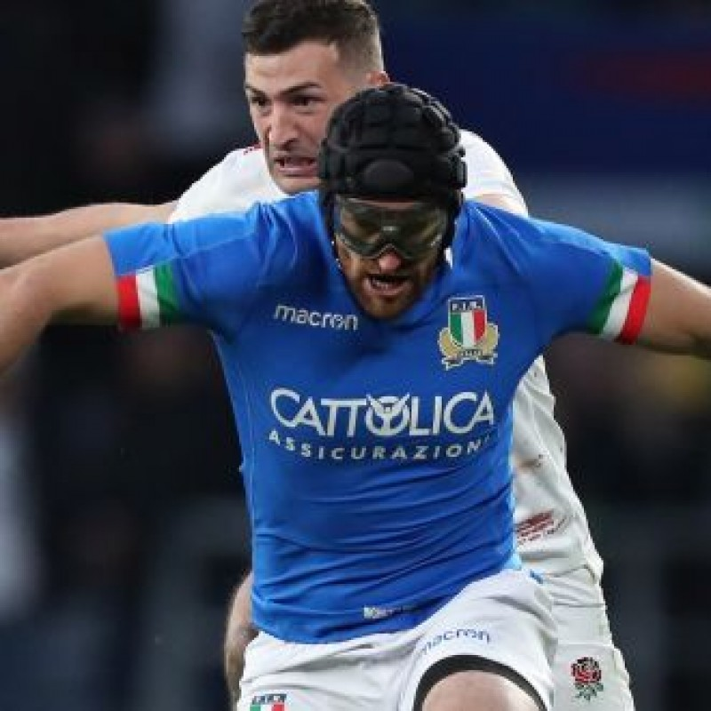 Ian McKinley's Worn and Signed Glasses, England-Italy Six Nations 2019