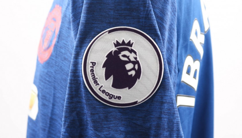 Maglia Ibrahimovic Man Utd, preparata / indossata 2016/17