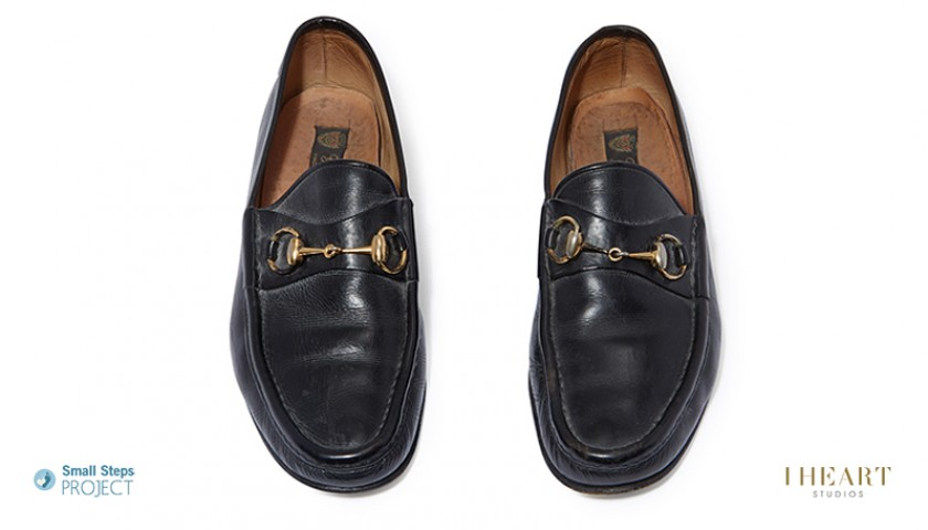 Michael Caine Signed Shoes