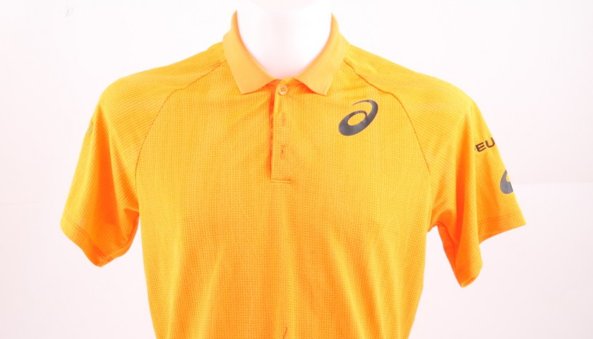 Shirt Worn by Goffin in Goffin vs Nadal, ATP Monte-Carlo 17 Signed