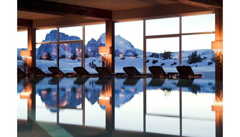 Enjoy a Two-Night Stay for Two at Alpina Dolomites Lodge