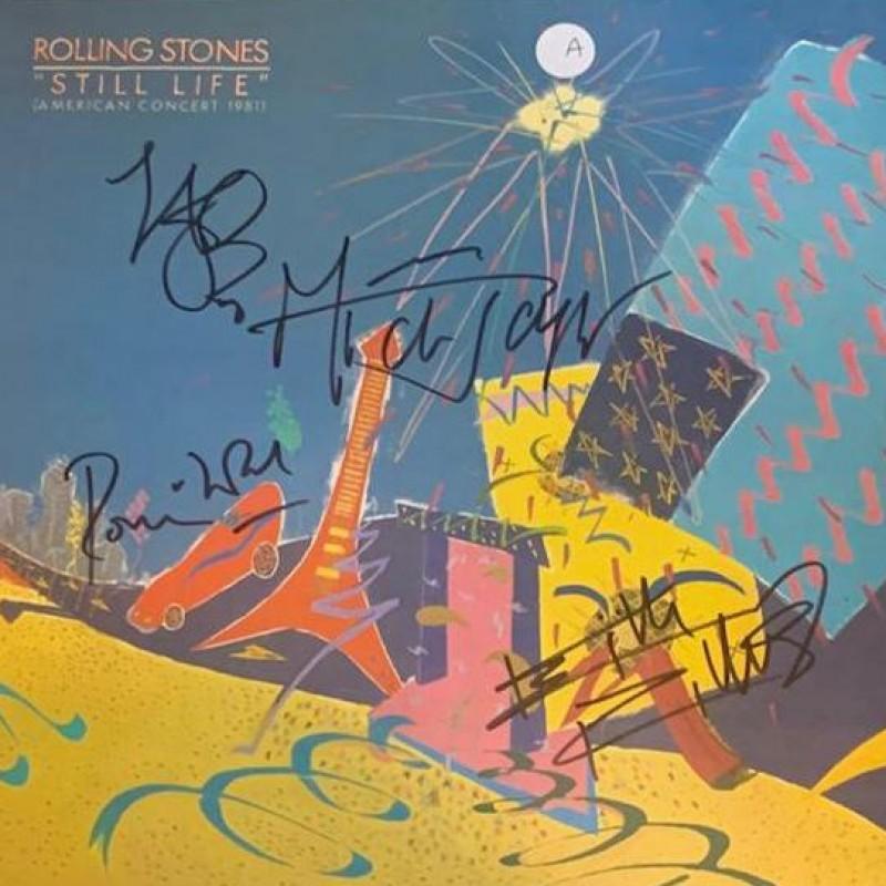 The Rolling Stones Signed Still Life Vinyl LP