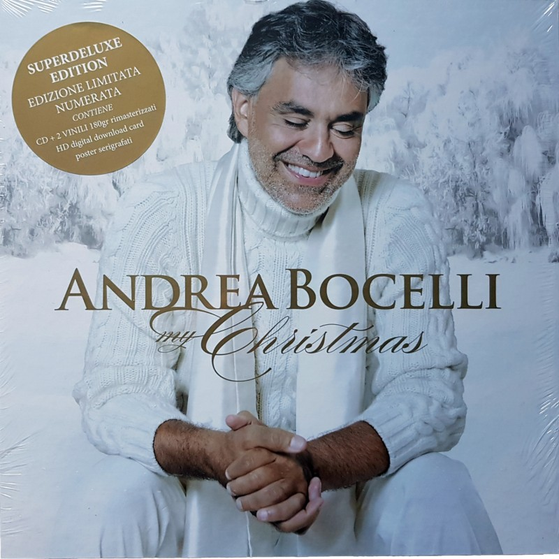 My Christmas by Andrea Bocelli Exclusive Box Set