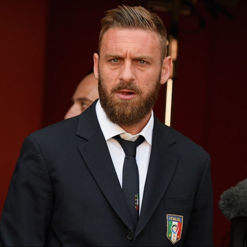 Italy National Football Team Shirt and Tie by Ermanno Scervino