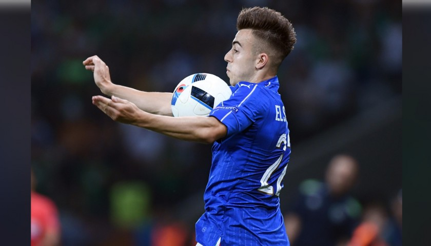 El Shaarawy's Match Shirt, Germany-Italy 2016