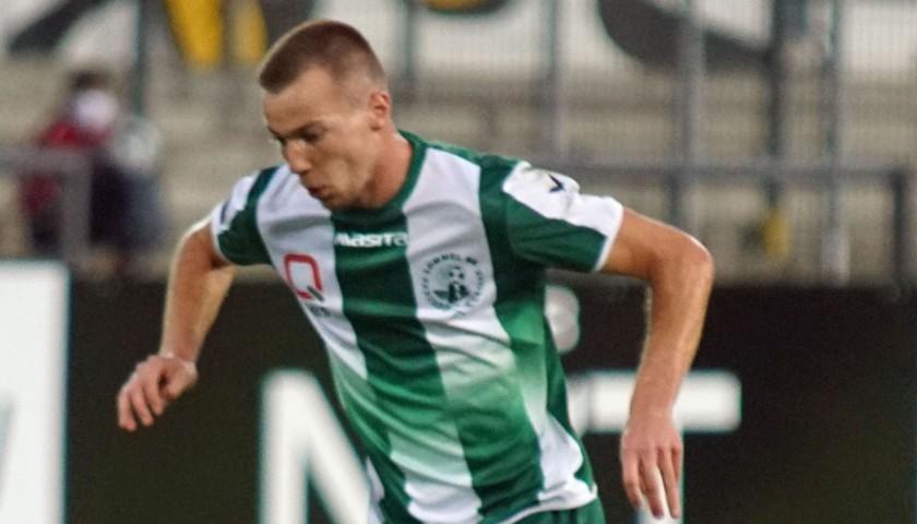 Lommel SK New shirt 2020-2021 Signed by Arno Verschueren