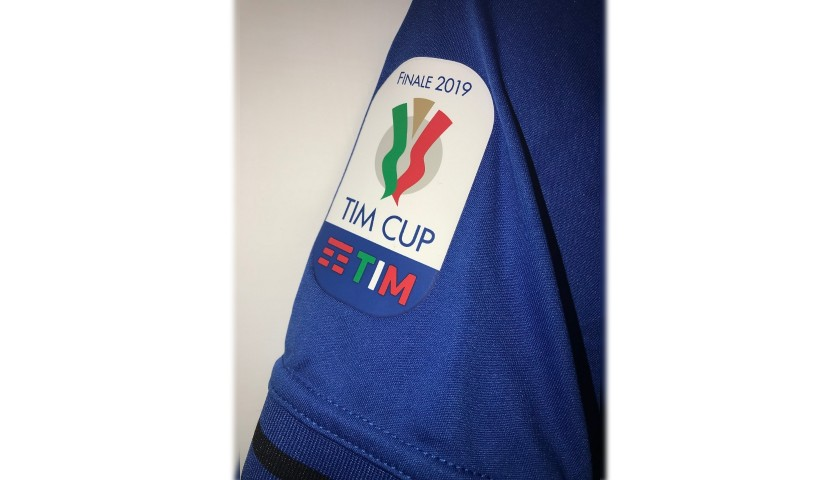 Papu Gomez's Match-Issue Shirt, Atalanta-Lazio, TIM Cup Final 2019