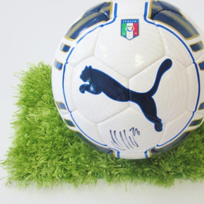 Official signed Puma Italy match ball