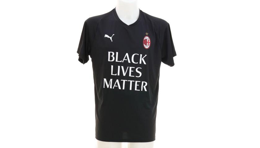 """AC Milan Training Shirt, """"Black Lives Matter"""""""