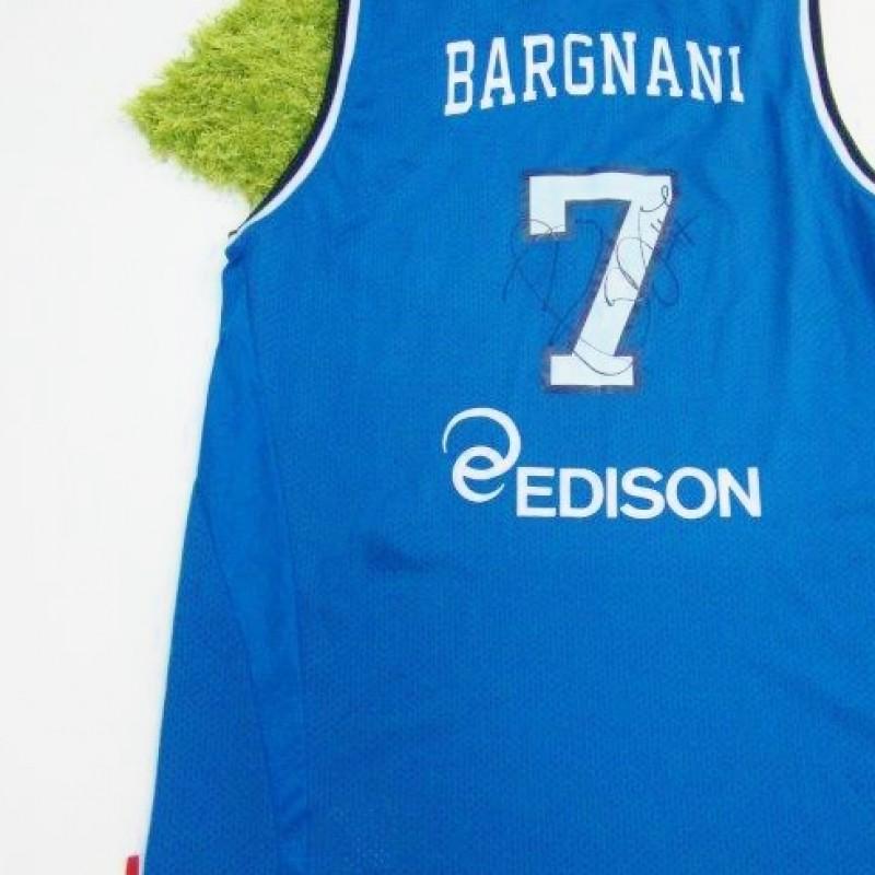 Andrea Bargnani's autographed Italian National shirt