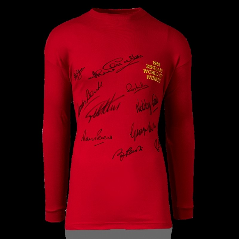 1966 World Cup Winners - England replica signed shirt