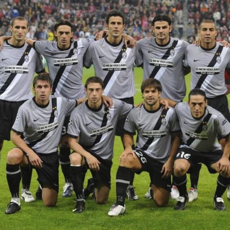 Grygera's Juventus Match Shirt, 2009/10