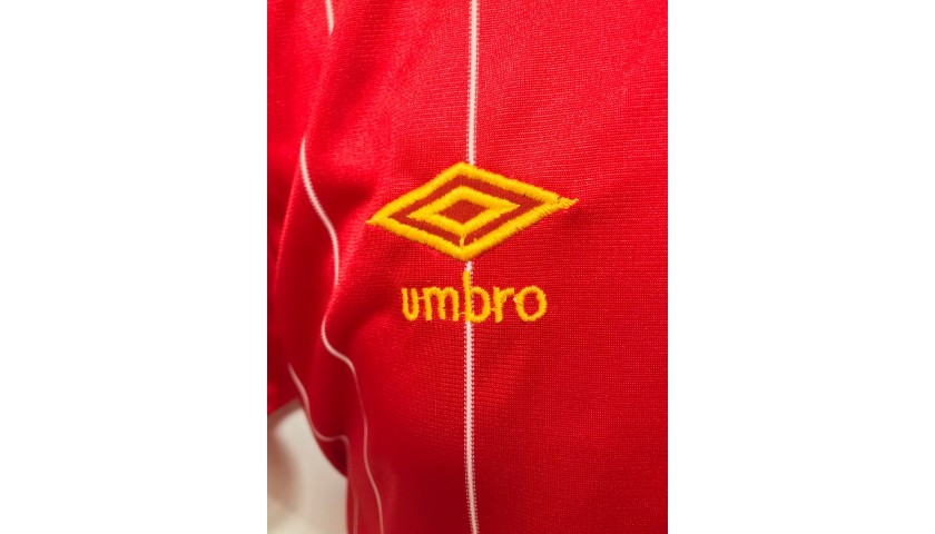 Dalglish's Match Shirt, Liverpool-Roma 1984