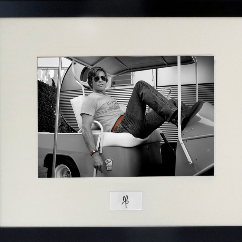 Brad Pitt 'Once Upon a Time in Hollywood' Signed Print
