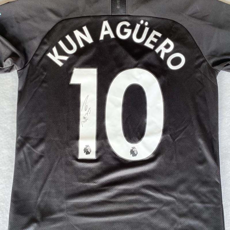 Aguero's Manchester City Signed Shirt