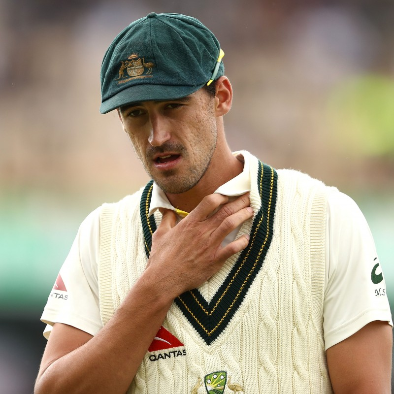 Baggy Green Signed by Mitchell Starc