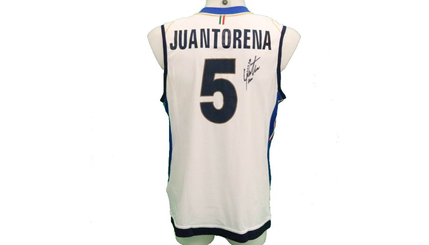 Juantorena's Official Italy Volleyball Signed Shirt, 2018