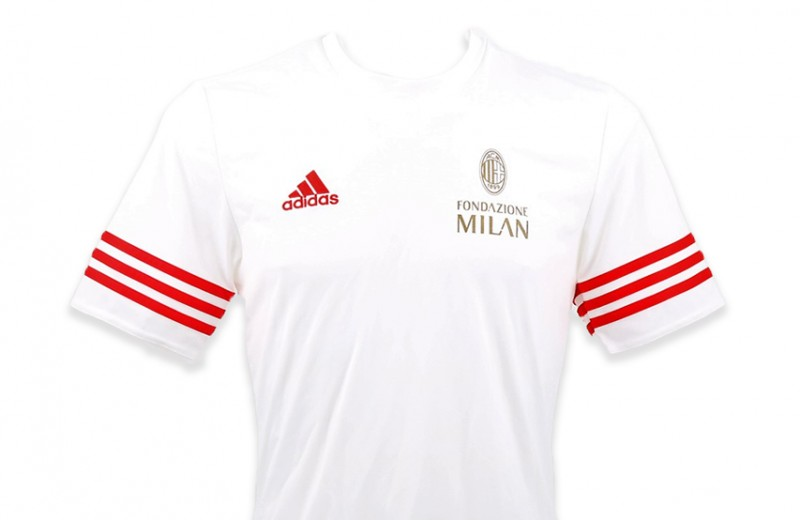 Fondazione Milan T-shirt Signed by Franco Baresi