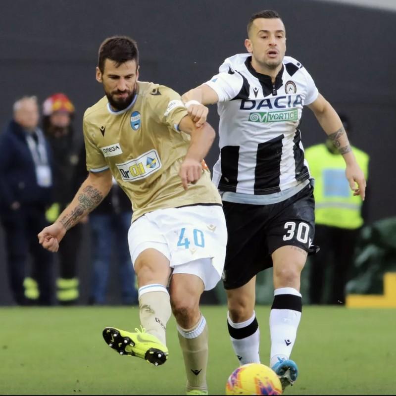 Nestorovski's Special Worn Shirt, Udinese Calcio -SPAL
