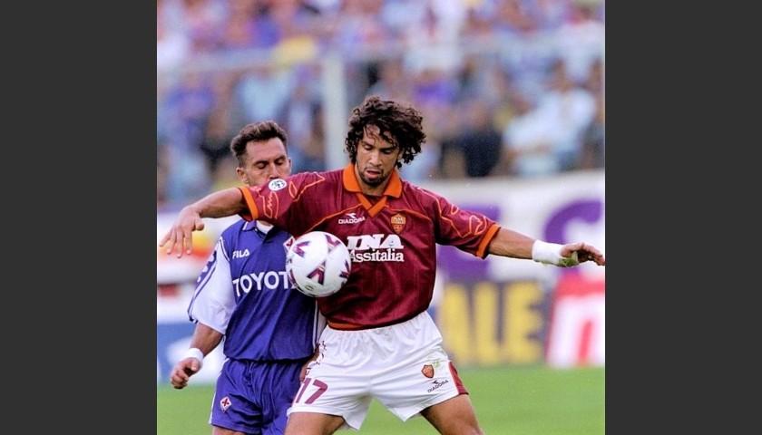 Tommasi's Roma Match Shirt, 1997/98