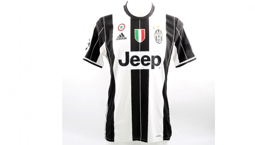 1532c1618f4 Dybala's Signed Match-Issued Juventus Shirt, 2016/17 UCL ...