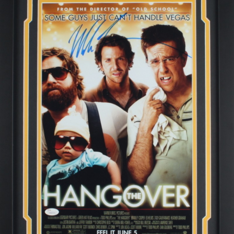 Mike Tyson Signed Framed 'The Hangover' Movie Poster