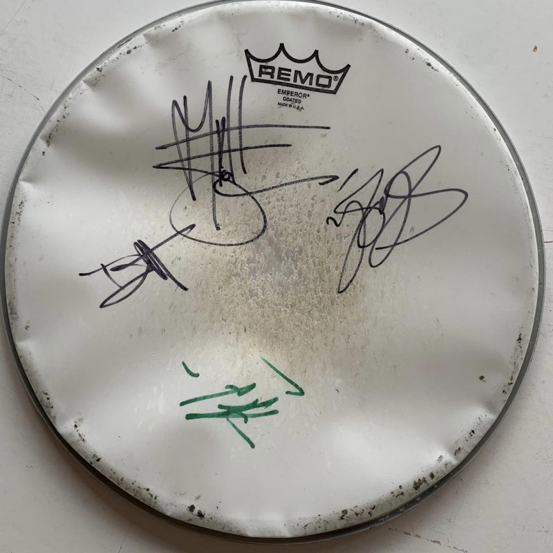 Guns n Roses Fully Signed Drumskin