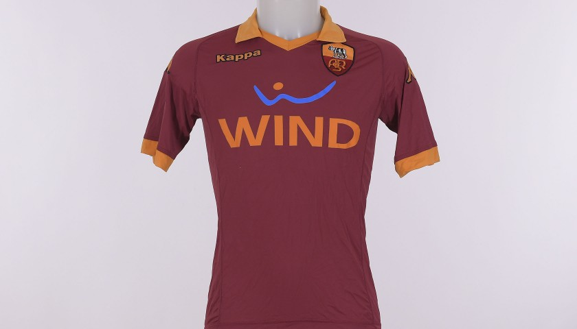 Francesco Totti's Signed Shirt, 2012/2013