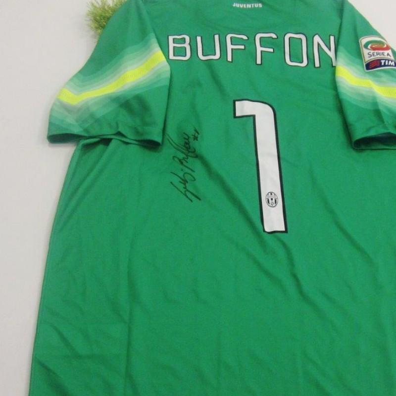 Buffon Juventus shirt, 2014/2015 season - signed