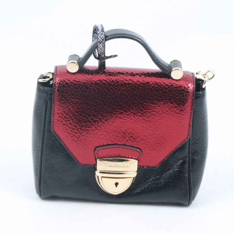 Laminated Mini Bag by Trussardi