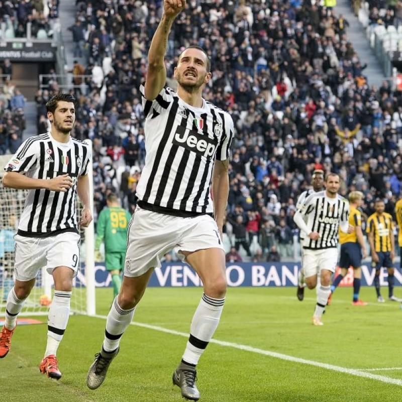 Bonucci's Match-Worn Right Nike Cleat, Serie A 2015/16