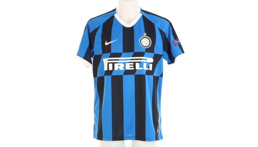 Lautaro's Official Inter Signed Shirt, 2019/20