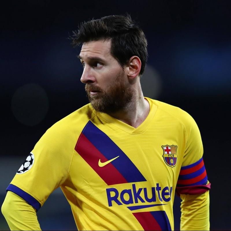 Messi's Match Shirt, Napoli-Barcelona 2020